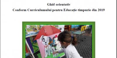 Activităţi proiectate pentru preşcolari, 4-5 ani (Ghid orientativ Online)